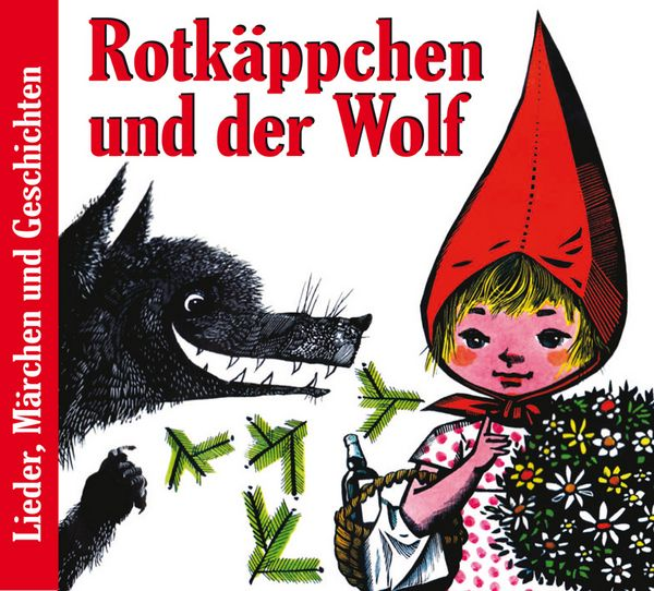 Deutsche Schallplatten Rotkäppchen U Der Wolf Lieder U